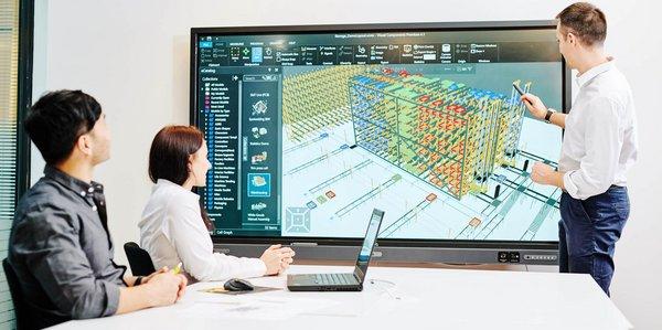 Visual Components Weitere Highlights Beschleunigung