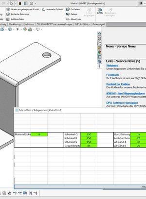 DPS Tools MarcoSheet - Konfigurator