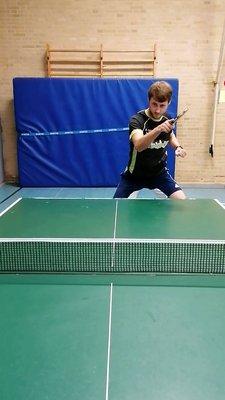 PreSales Tobias beim Tischtennis