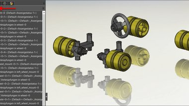 Feature-Manager in SOLIDWORKS