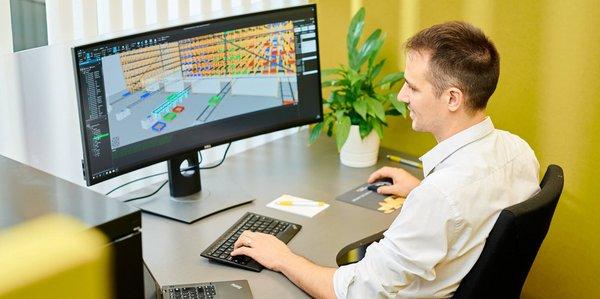 Visual Components Weitere Highlights Entwurf und Planung von Produktionslinien