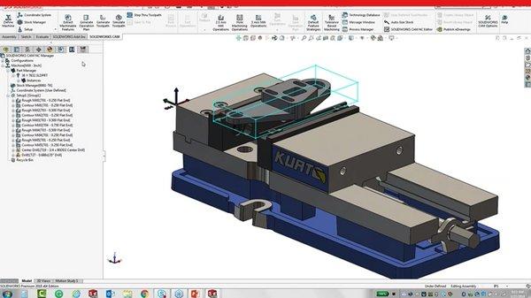 SOLIDWORKS CAM - Design for Manufacturing