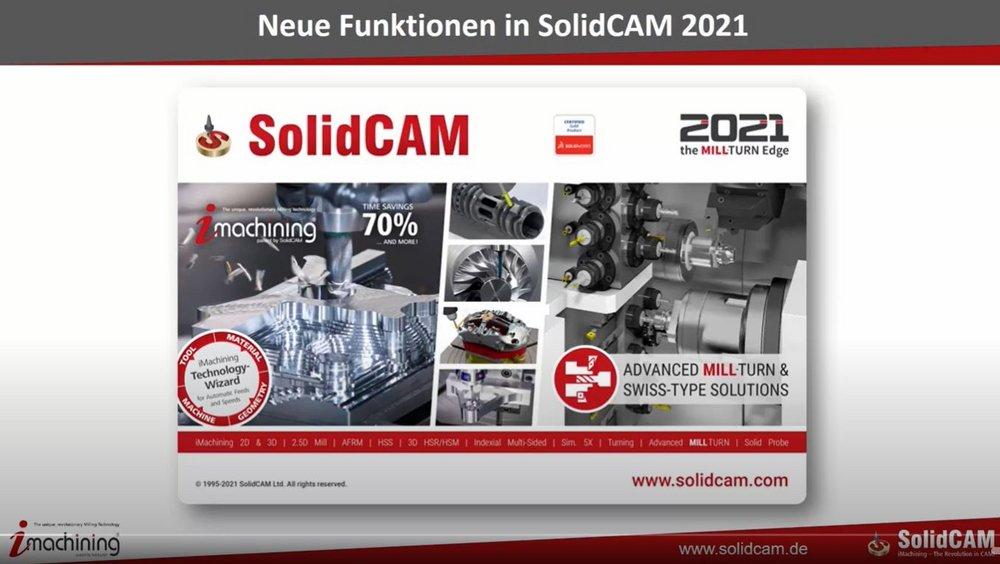Neuheiten SolidCAM 2021
