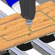 SWOOD 21 Materialdarstellung in der Abtragssimulation